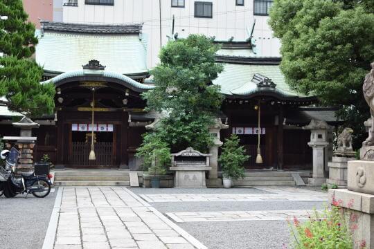 【travel】元祇園梛神社